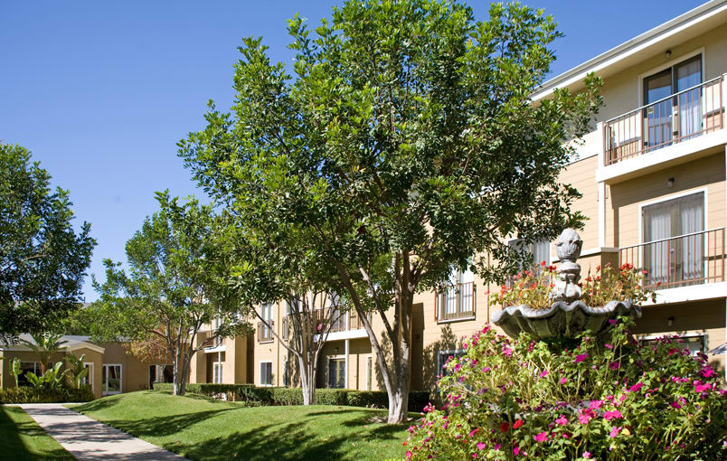 Different floor plans at the senior living community in Anaheim