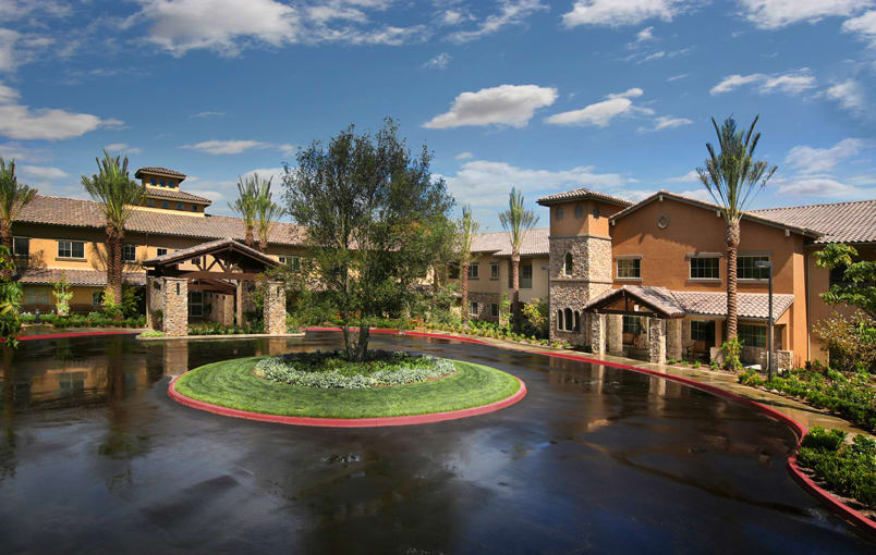 Different floor plans at the senior living community in Corona