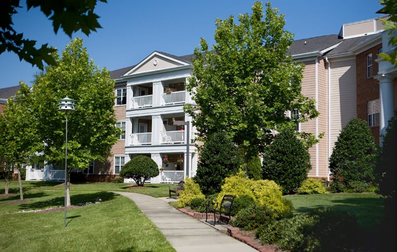 Different floor plans at the senior living community in Cary