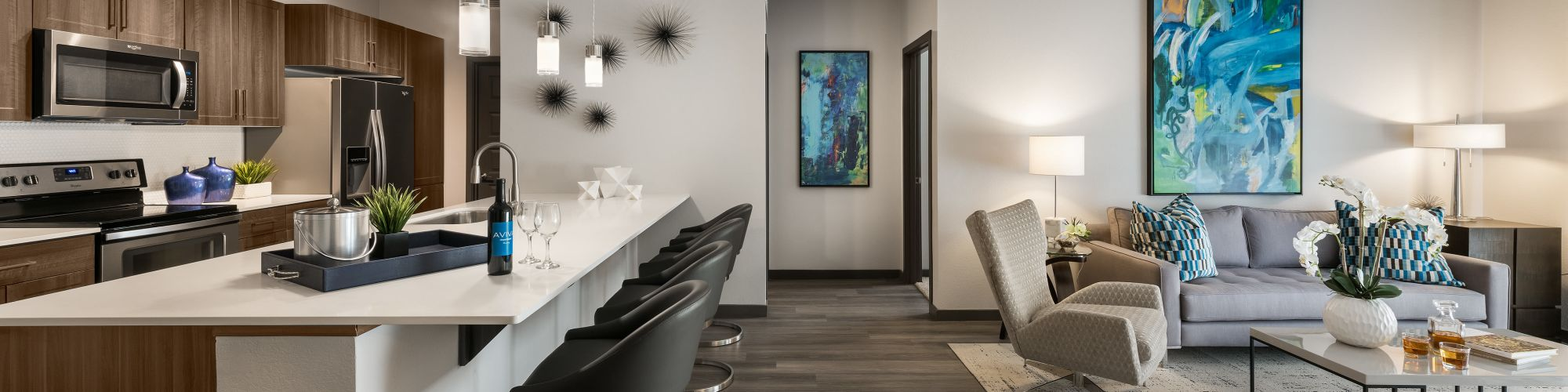 Floor plans at Aviva in Mesa, Arizona