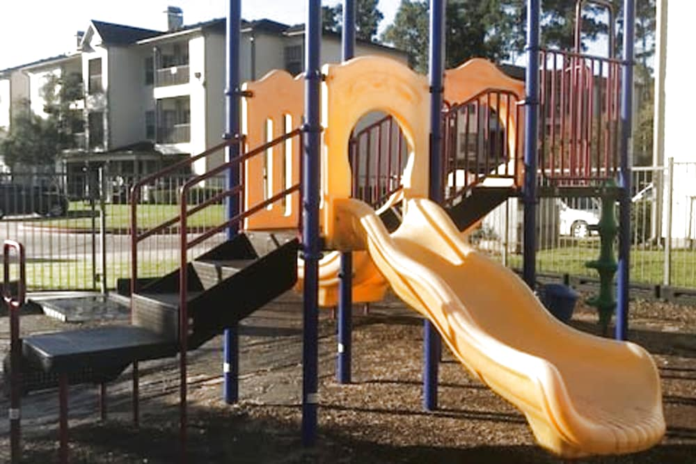 Outdoor playground at Parc @ Champion Forest in Houston, Texas