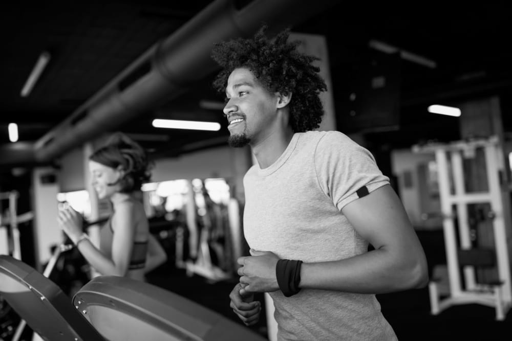 Residents working out at IDENTITY Boise in Boise, Idaho