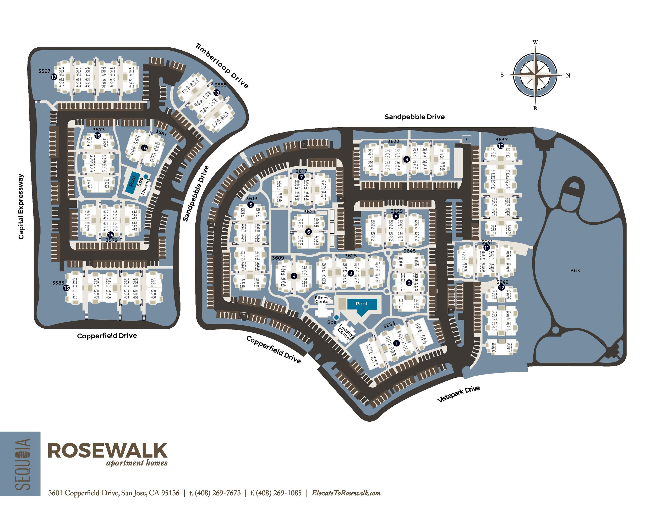 San Jose Luxury Apartment Amenities Rosewalk
