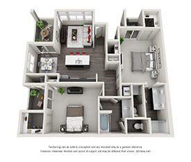 Modern Loft 1 2 3 Bedroom Apartments in Las Vegas NV