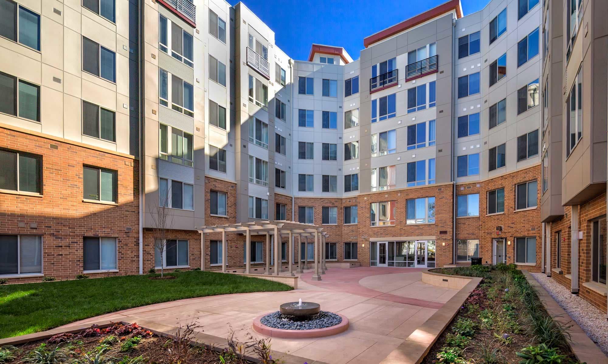 Washington DC Apartments near Kenilworth Park The Grove at Parkside