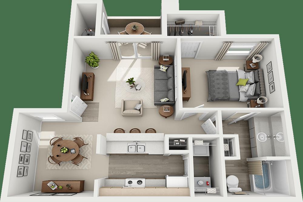 Luxury 1 2 3 Bedroom Apartments in Las Vegas NV