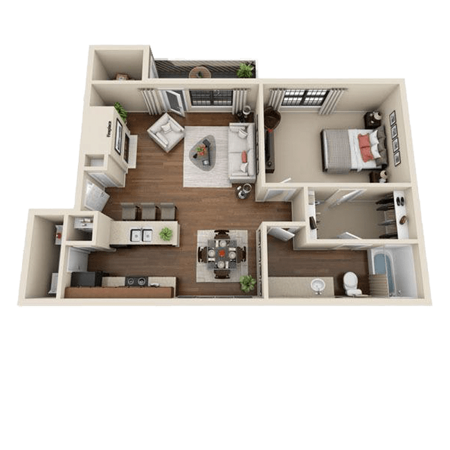 1 2 Bedroom Apartments in Colorado Springs CO Mountain View