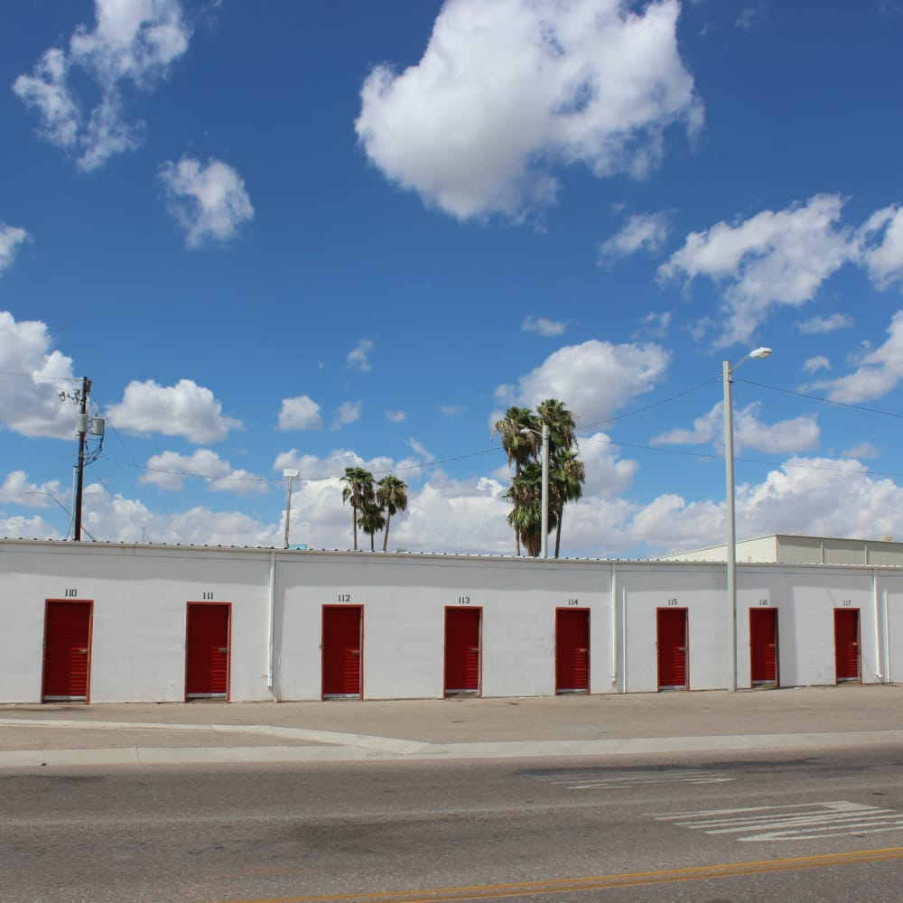 Storage units available for rent at Trojan Storage in Tucson, Arizona