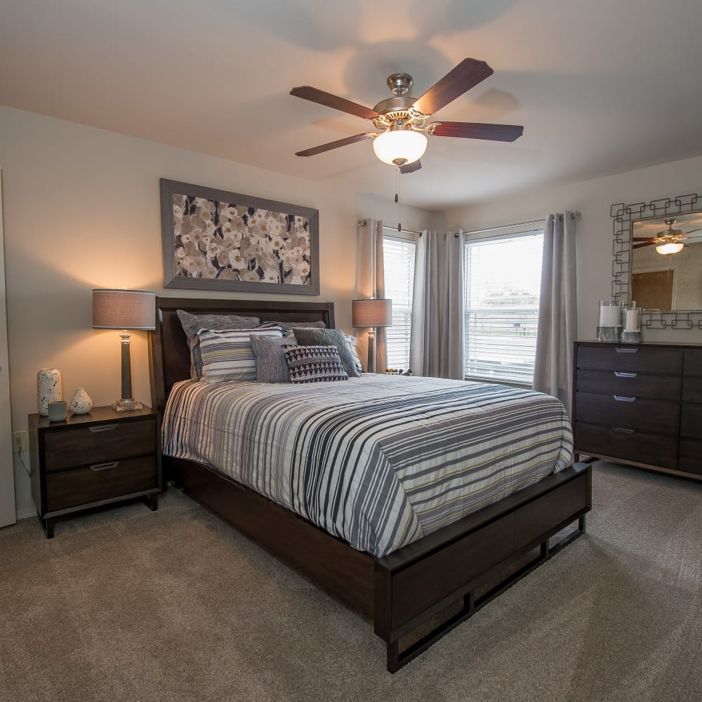 Bedroom at Scissortail Crossing Apartments in Broken Arrow, Oklahoma