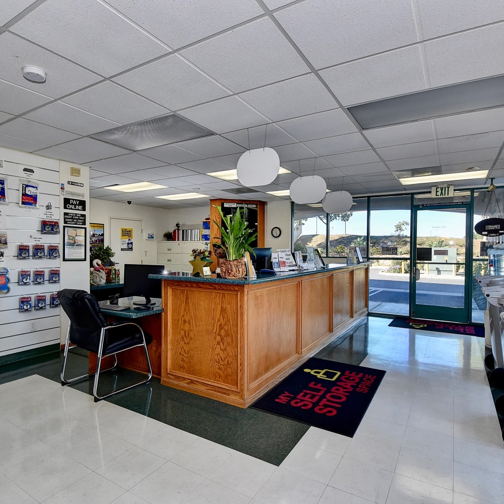 Office at My Self Storage Space in Camarillo, California
