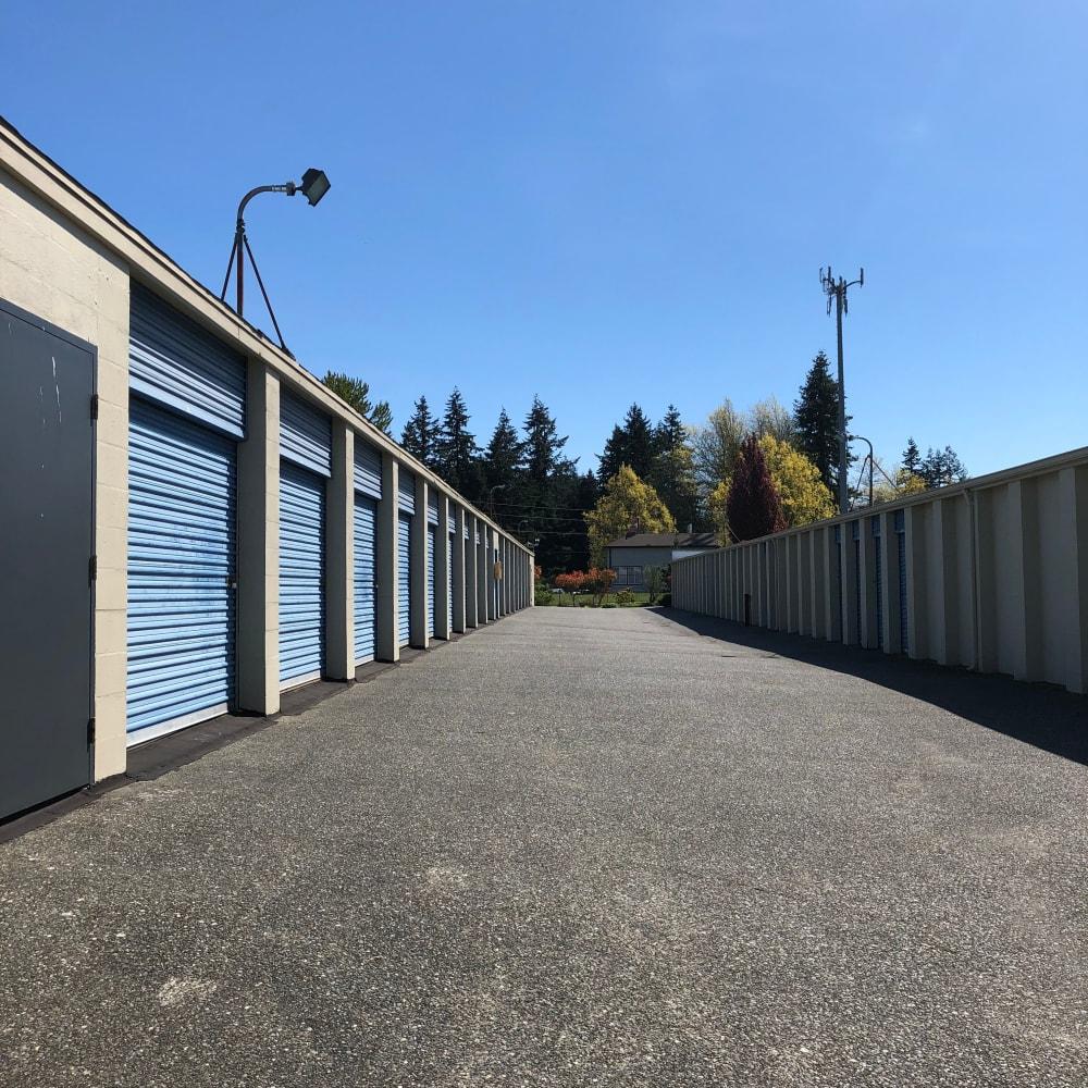 Self storage units for rent at Trojan Storage in Everett, Washington