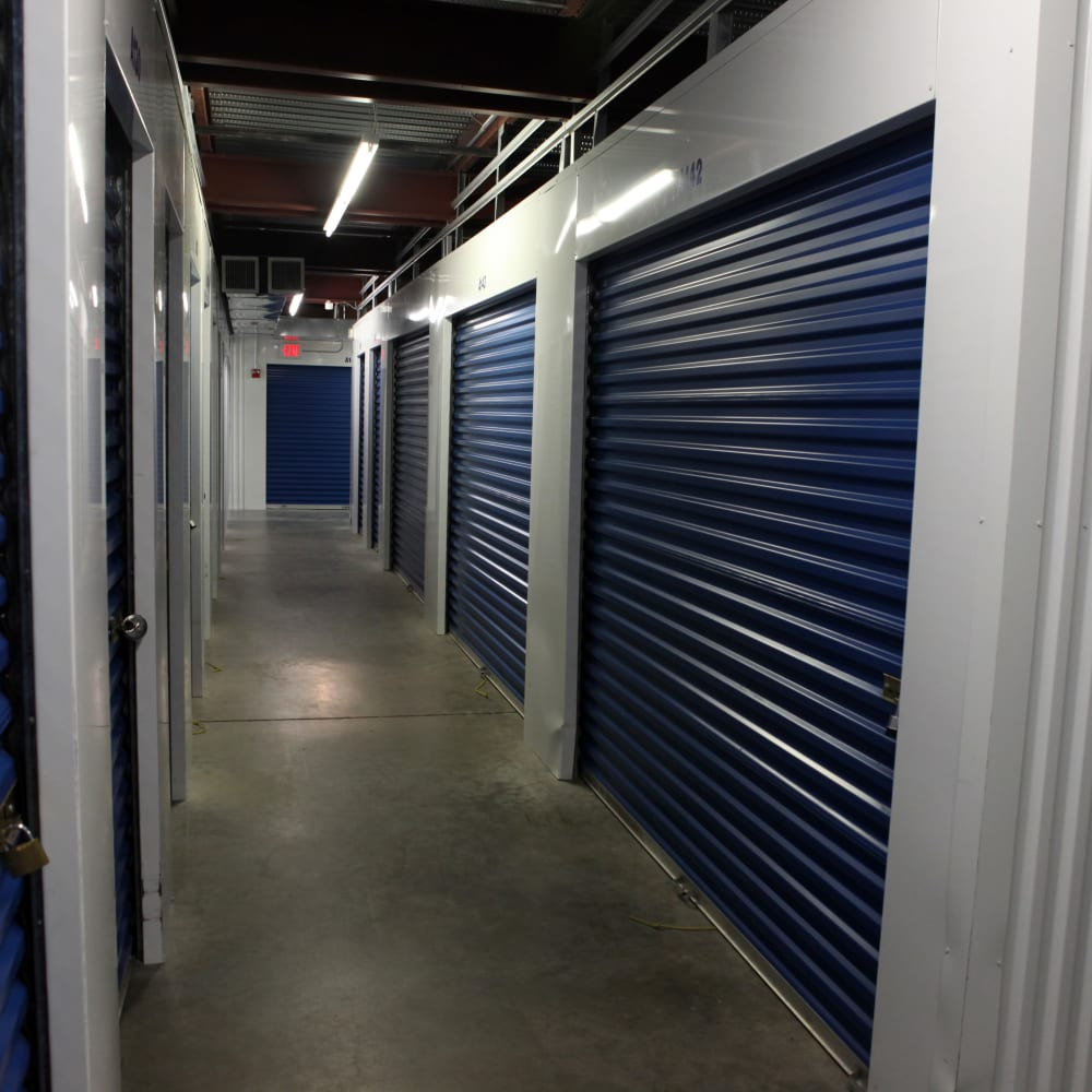 Heated & cooled spaces at Premier Storage Solutions of West Islip in West Islip, New York