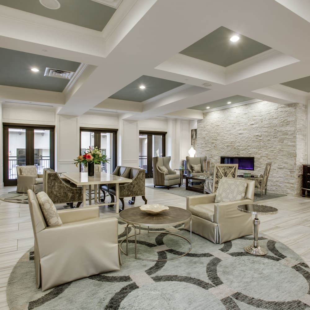 Interior of Cantabria at Turtle Creek's clubhouse in Dallas, Texas