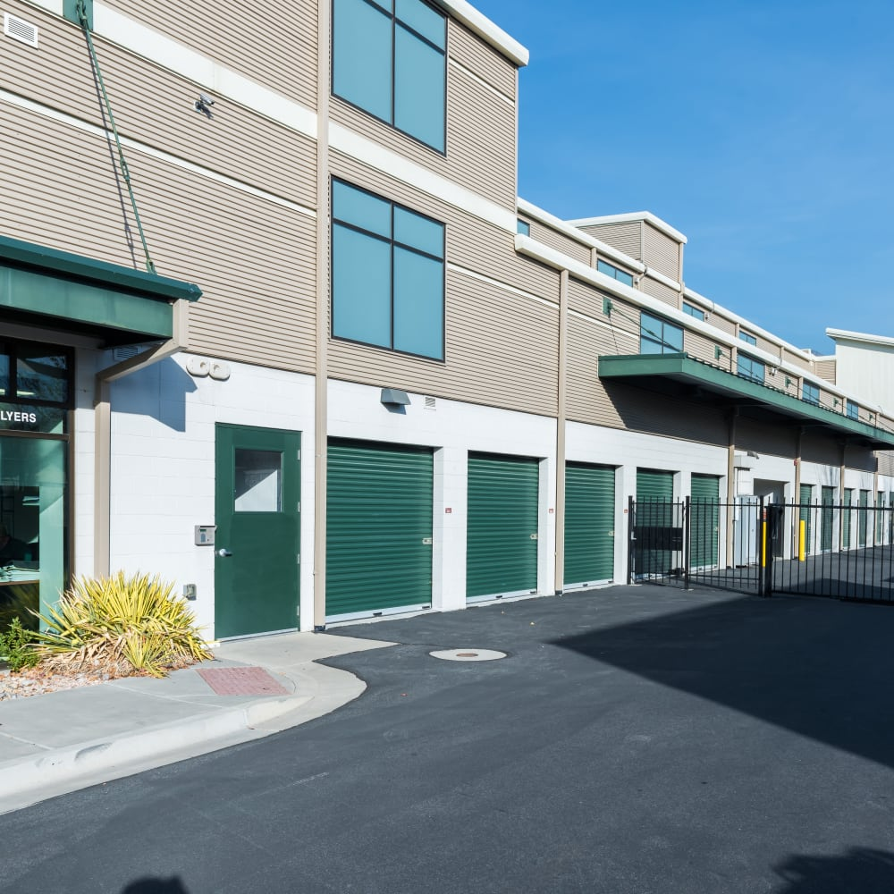 Easy access storage units at Cubes Self Storage in Millcreek, Utah