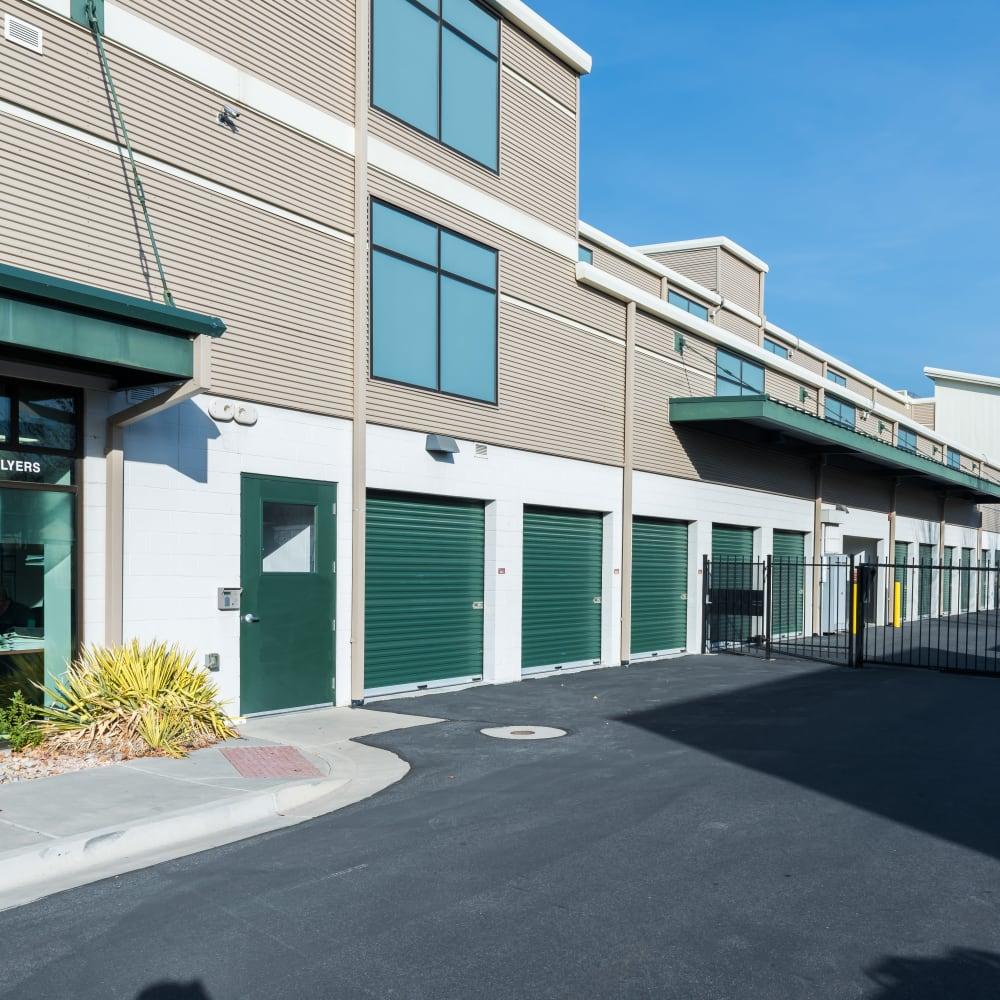 Easy access storage units at Cubes Self Storage in Millcreek, Utah