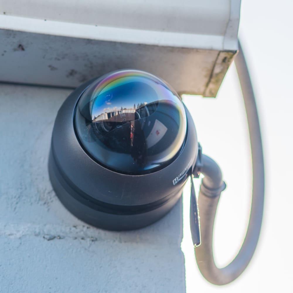 Surveillance camera at Sound Storage in Port Orchard, Washington