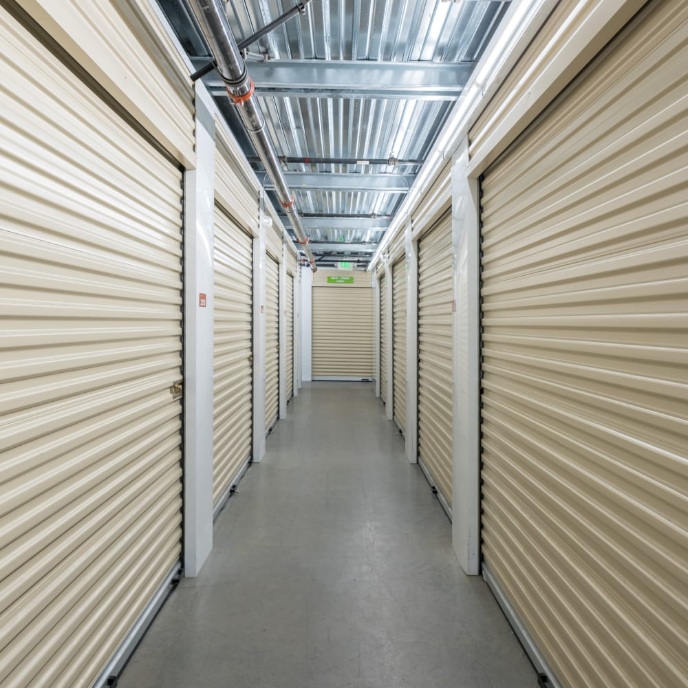 Climate controlled storage units at Cubes Self Storage in Millcreek, Utah