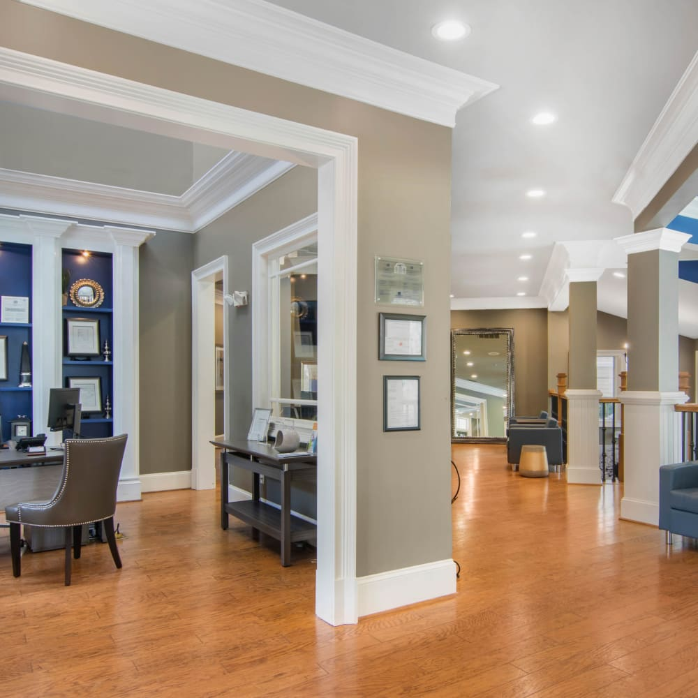 Spacious and open clubhouse at Cavalier @ 100 in Lithonia, Georgia