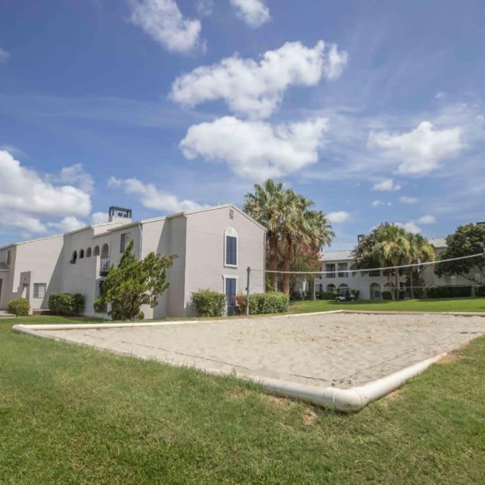 Exterior of apartments at Royal Palms in San Antonio, Texas