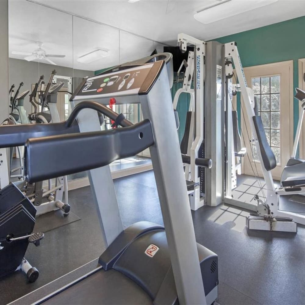 Resident fitness center at Royal Palms in San Antonio, Texas