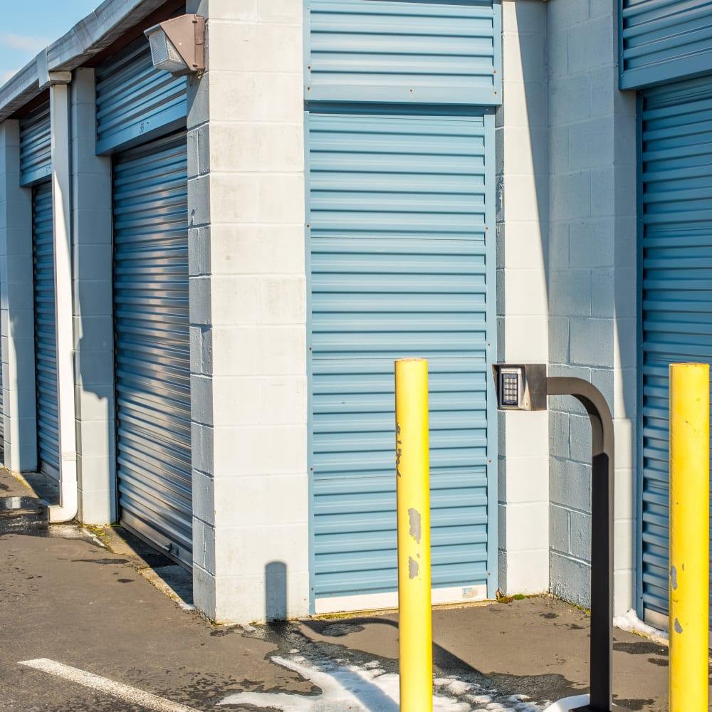 Exterior storage units at Sound Storage in Port Orchard, Washington