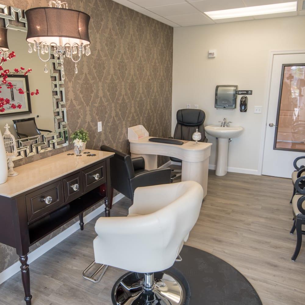 onsite salon at Inspired Living Bonita Springs in Bonita Springs, Florida