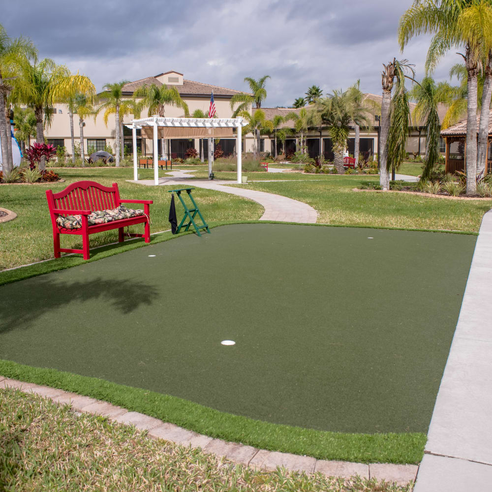 See what other amenities we offer at Inspired Living Sun City Center in Sun City Center, Florida
