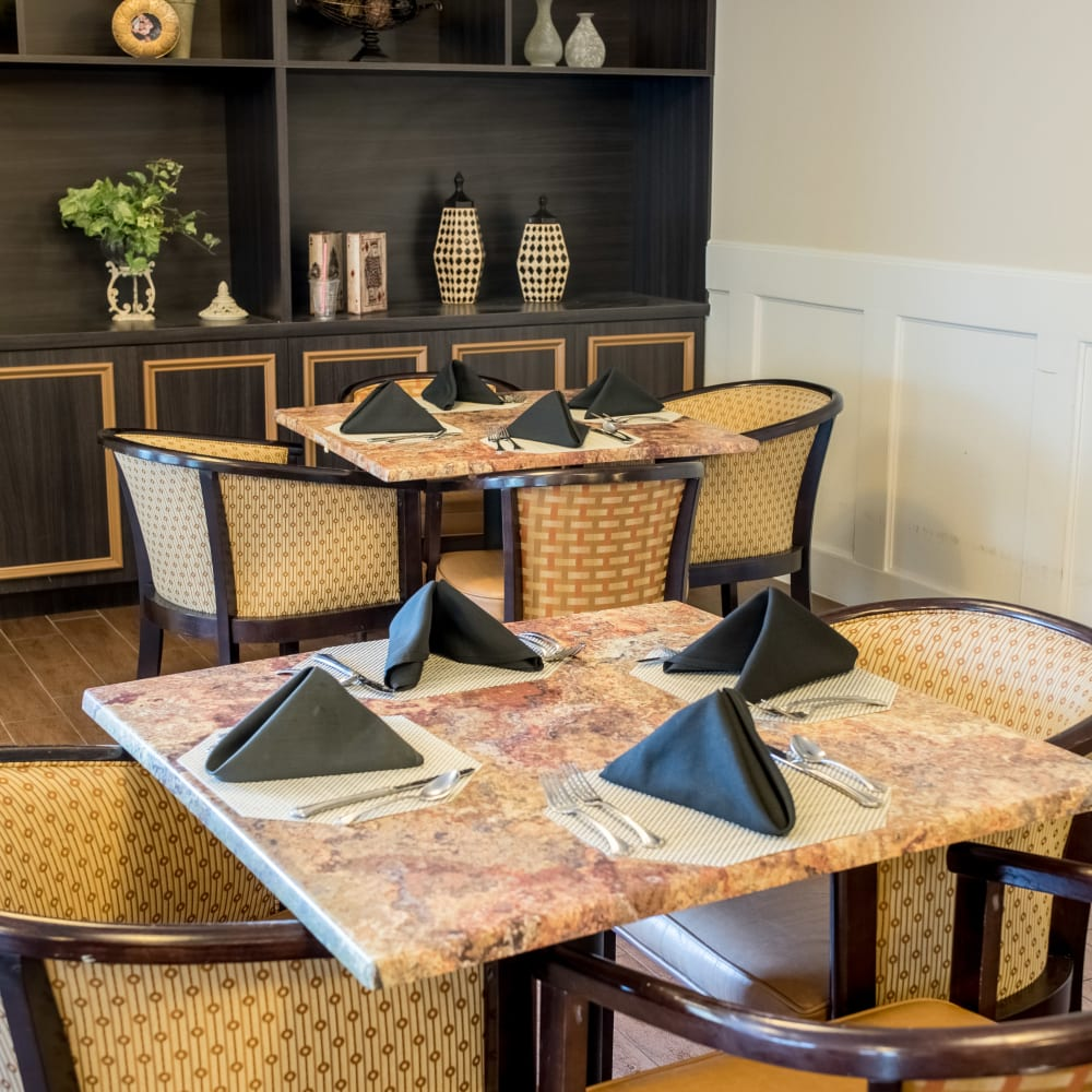 Learn about our dining program at Inspired Living Sun City Center in Sun City Center, Florida