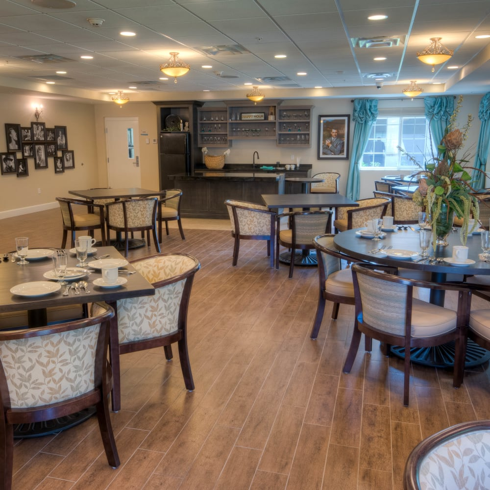 Learn about our dining program at Inspired Living in Tampa, Florida