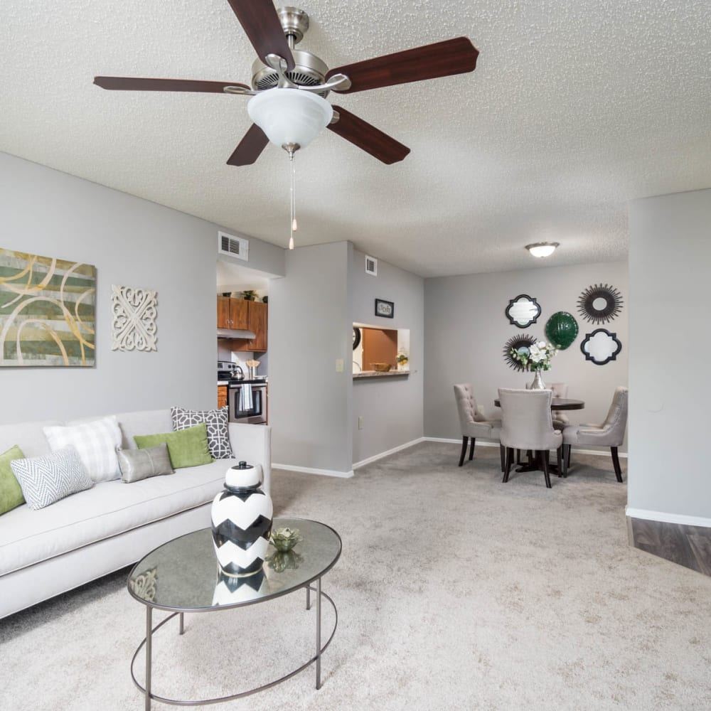 In-home features at Paddock Club Apartments in Florence, Kentucky