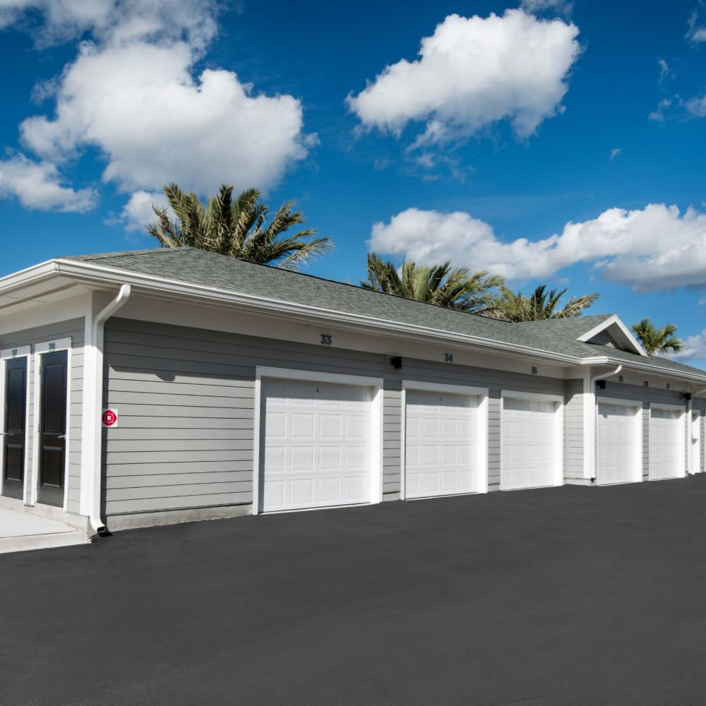 Garages available at The Elysian in St Johns, Florida