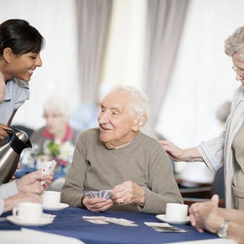 Learn more about assisted living at White Oaks in Lawton, Michigan