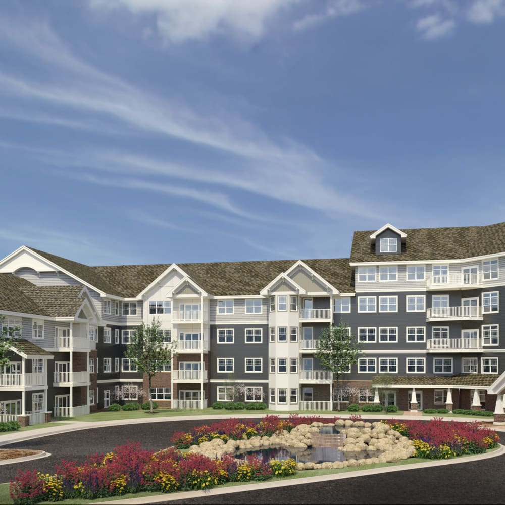 Rendering of Applewood Pointe Eden Prairie in Eden Prairie, Minnesota.