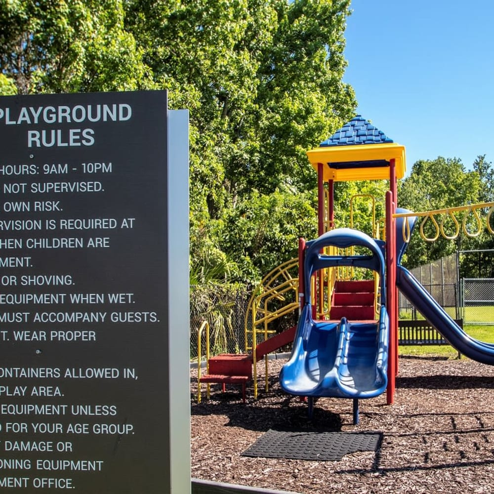 The playground at Onyx Winter Park in Casselberry, FL