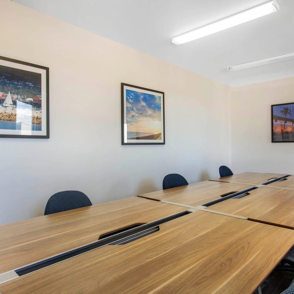 Study room at ICON in Isla Vista, California