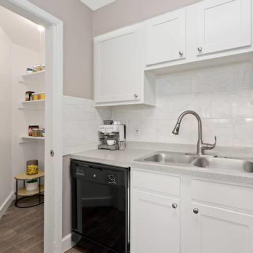 Kitchen interior at The Phoenix in Brighton, Colorado
