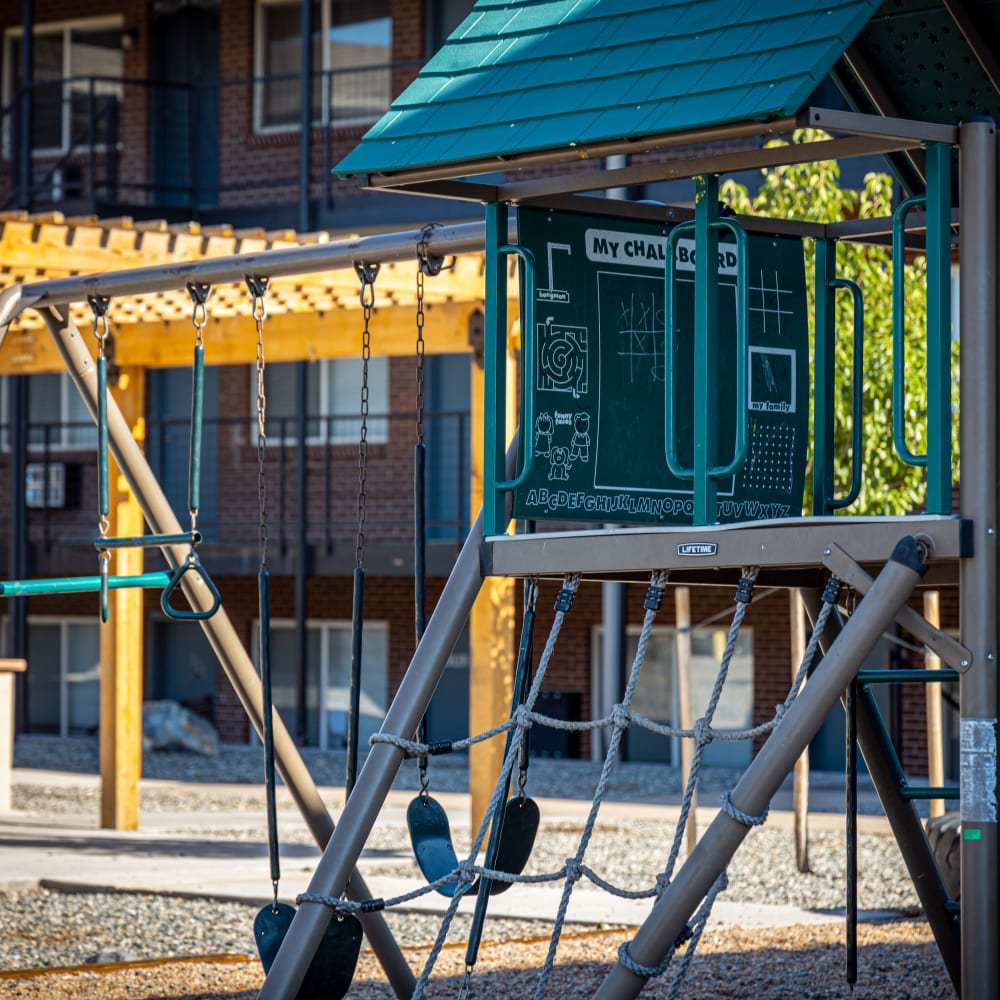 Playground outdoors at The Phoenix in Brighton, Colorado