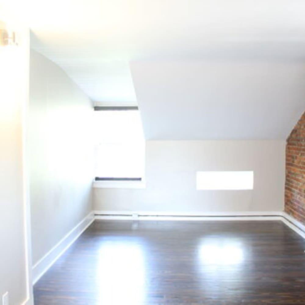 Bedroom at The Maven @ 806 in Louisville, Kentucky
