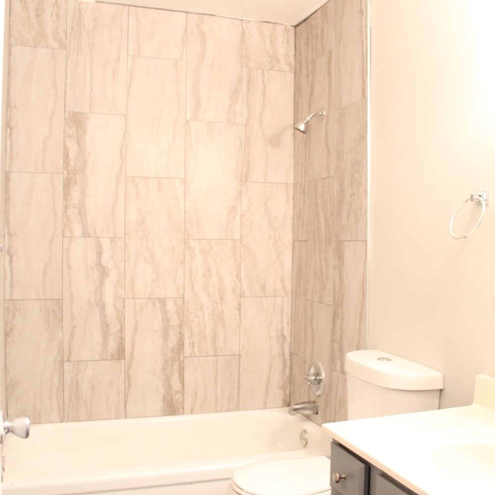 Bathroom at Clifton Ridge Apartments in Louisville, Kentucky