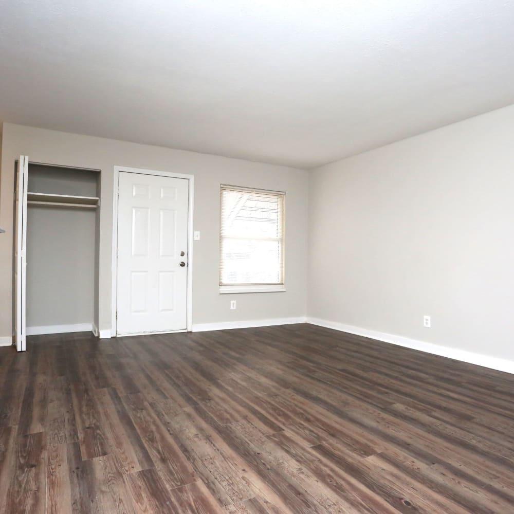 Bedroom at Clifton Ridge Apartments in Louisville, Kentucky