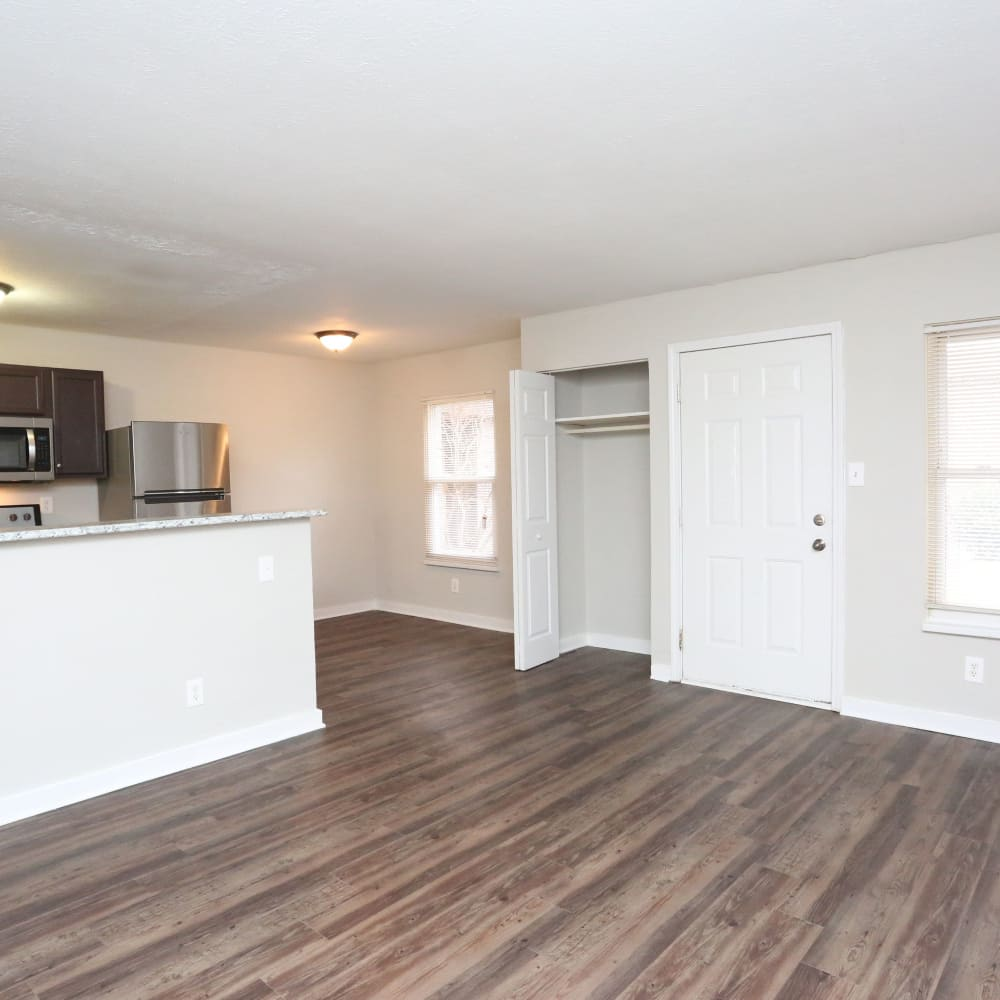 Spacious floor plan at Clifton Ridge Apartments in Louisville, Kentucky