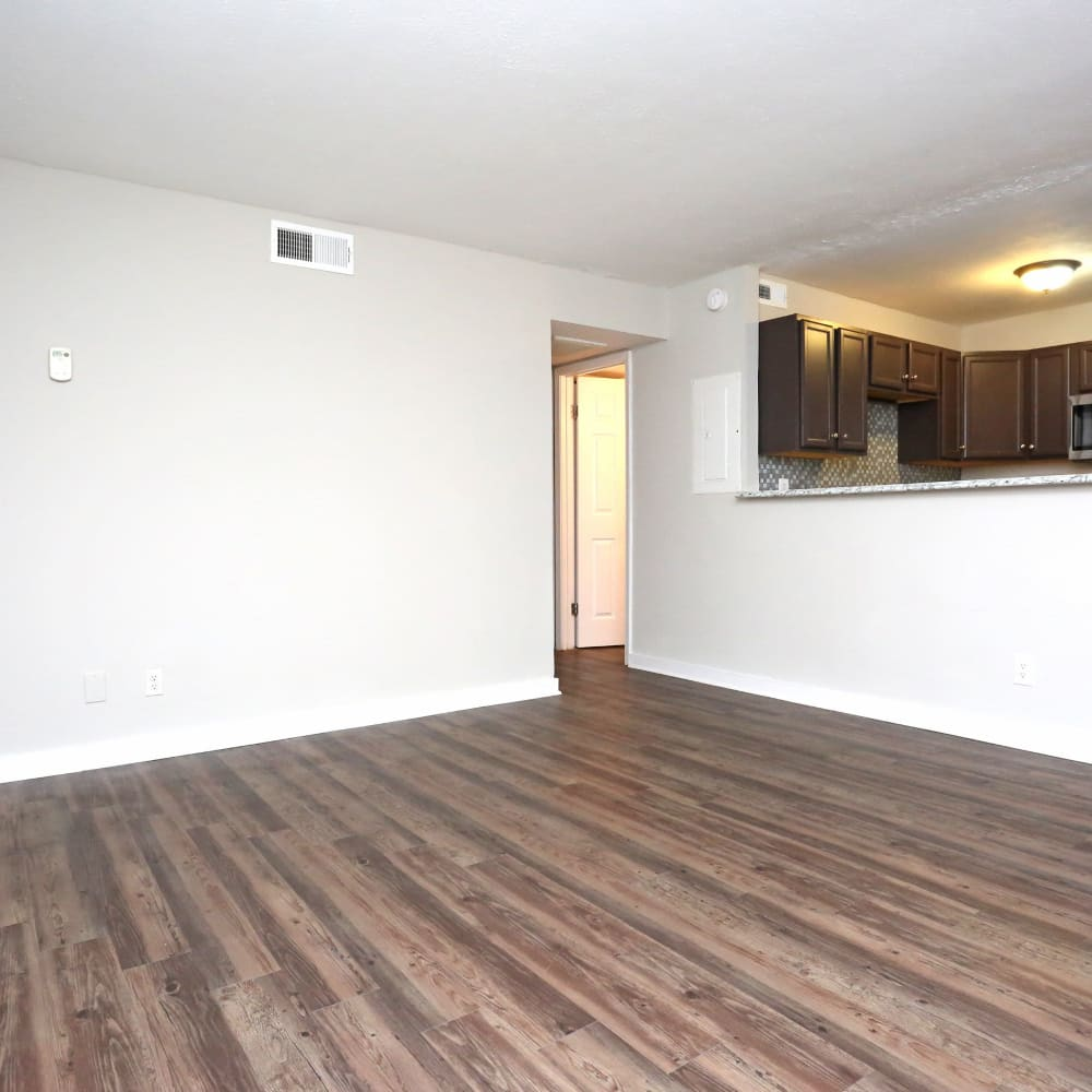 Living room at Clifton Ridge Apartments in Louisville, Kentucky