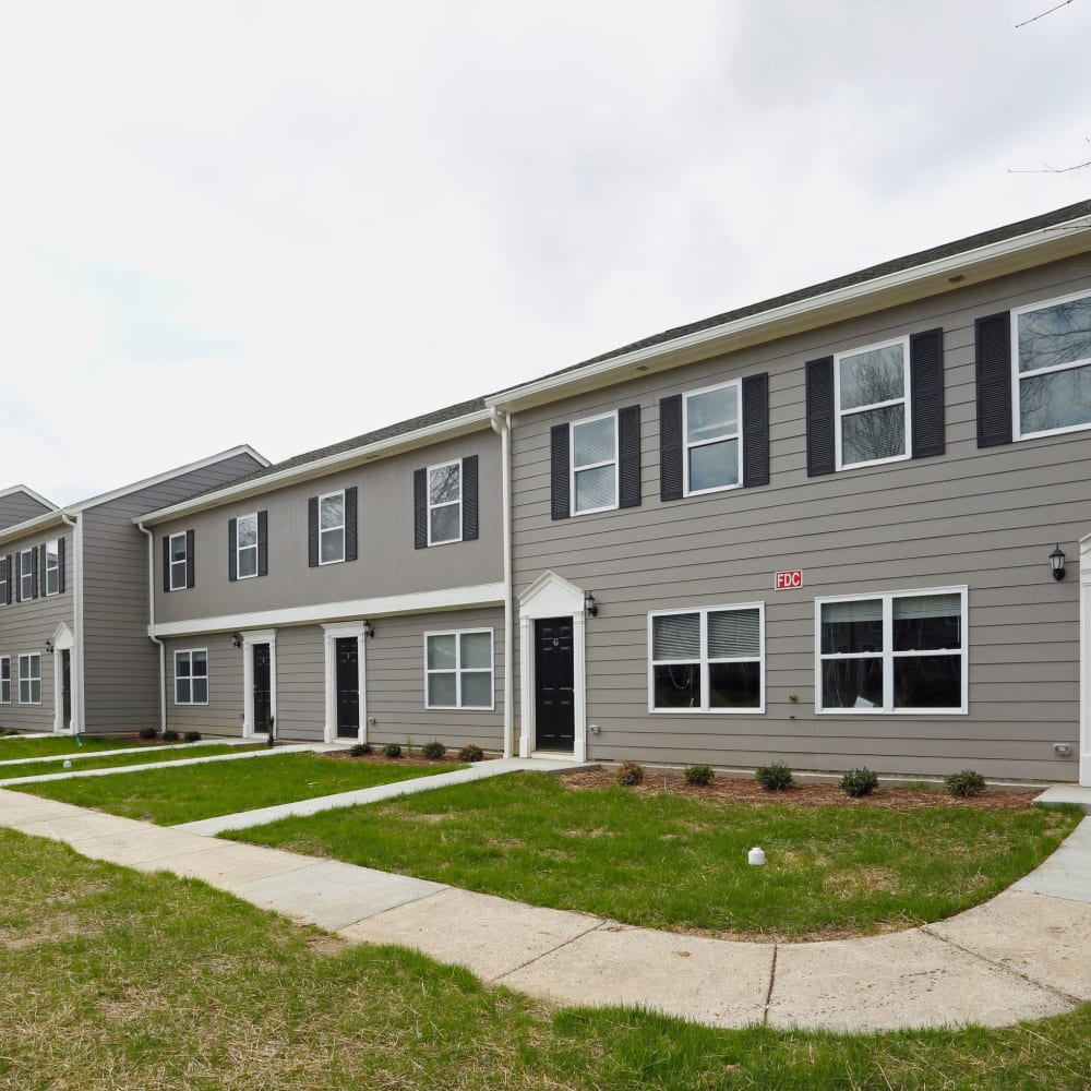 Townhomes for rent at Rippling Stream Townhomes in Durham, North Carolina