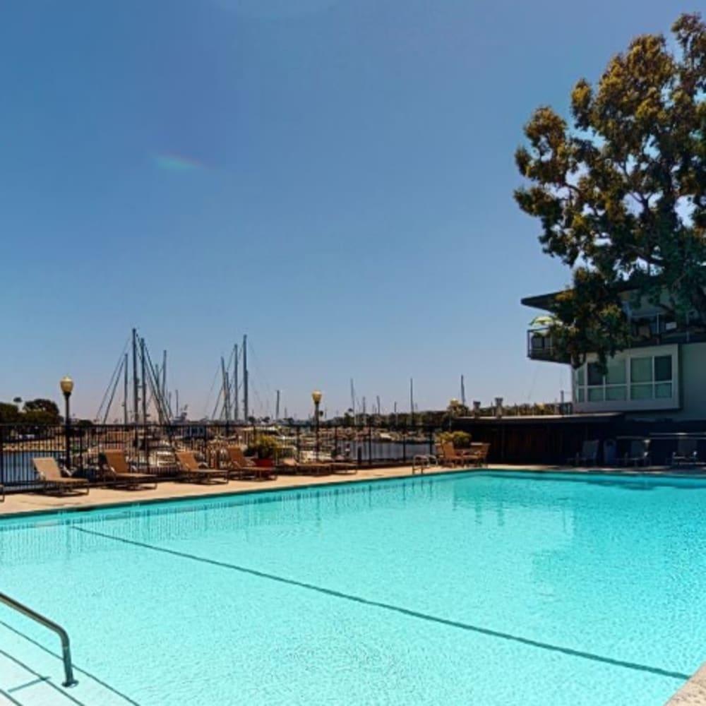 View a virtual tour of the swimming pool at The Tides at Marina Harbor in Marina del Rey, California