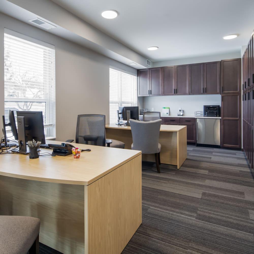 Business center at Oaks Minnehaha Longfellow in Minneapolis, Minnesota
