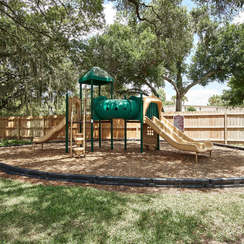 A children's playground at Westwood @60 in Brandon, Florida