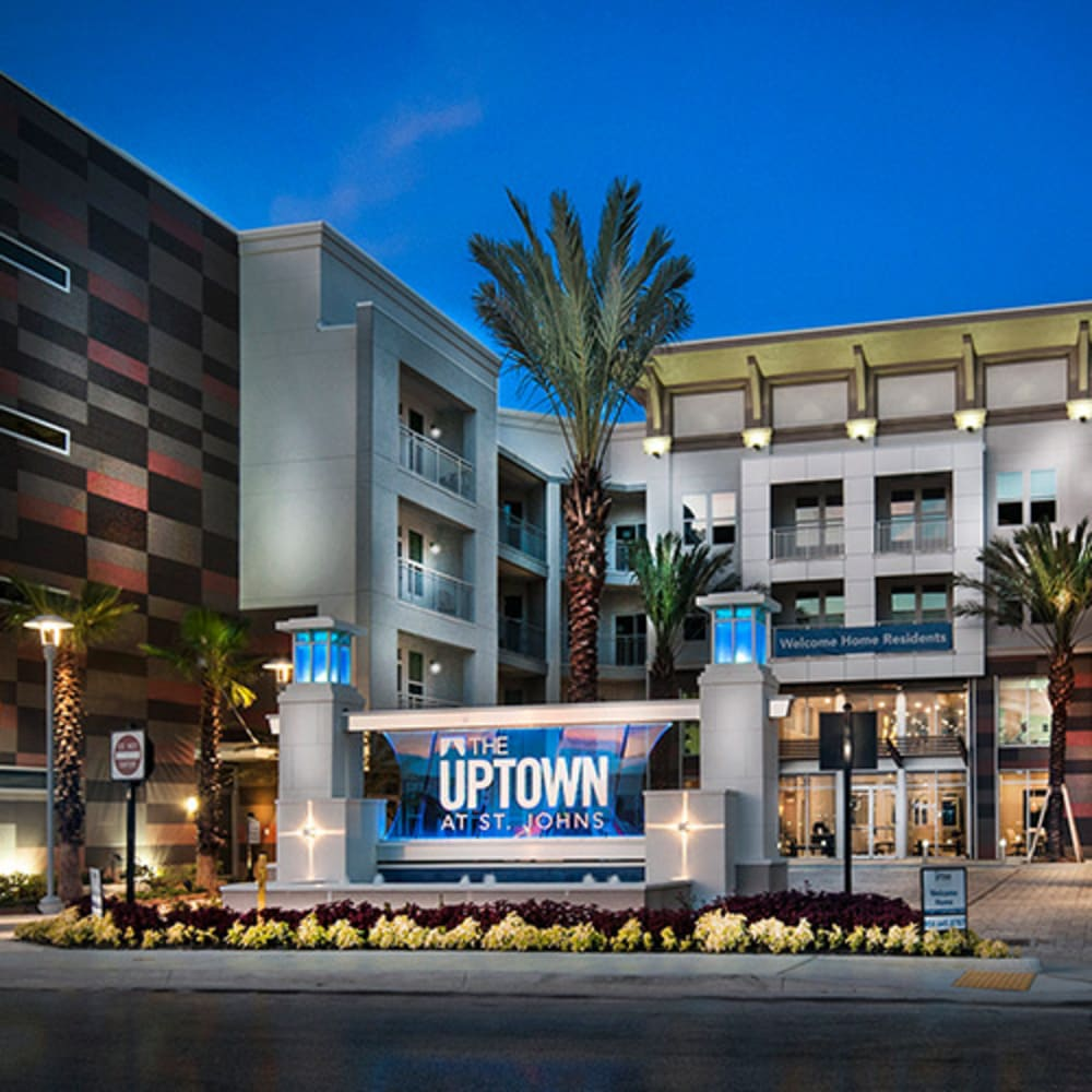 Uptown apartments in Jacksonville, Florida
