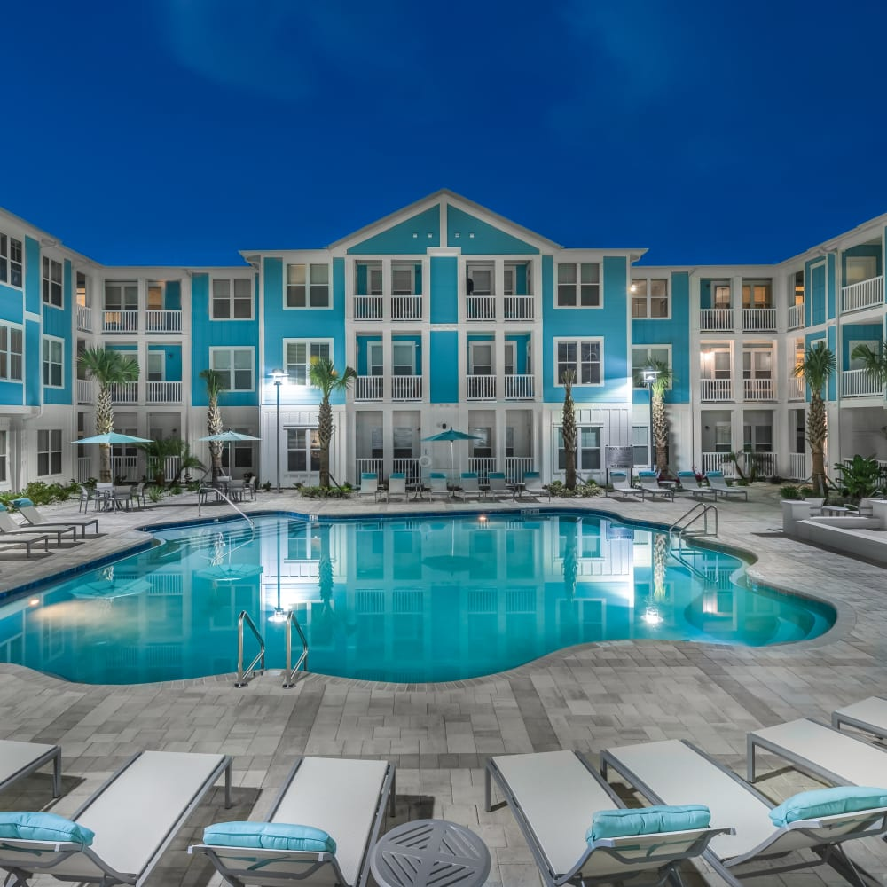 BluWater apartments in Jacksonville, Florida