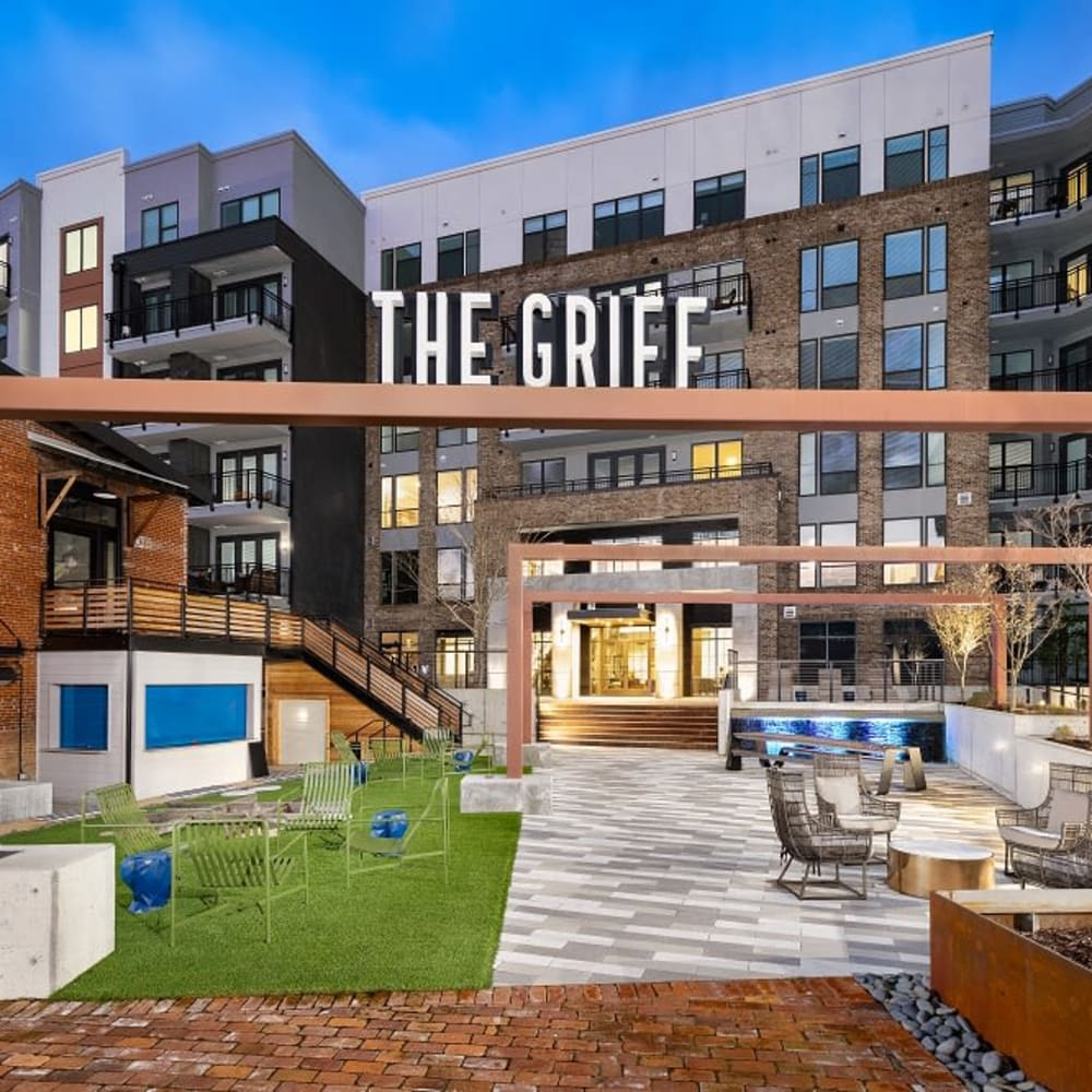 View the site for The Griff apartments in Nashville, Tennessee