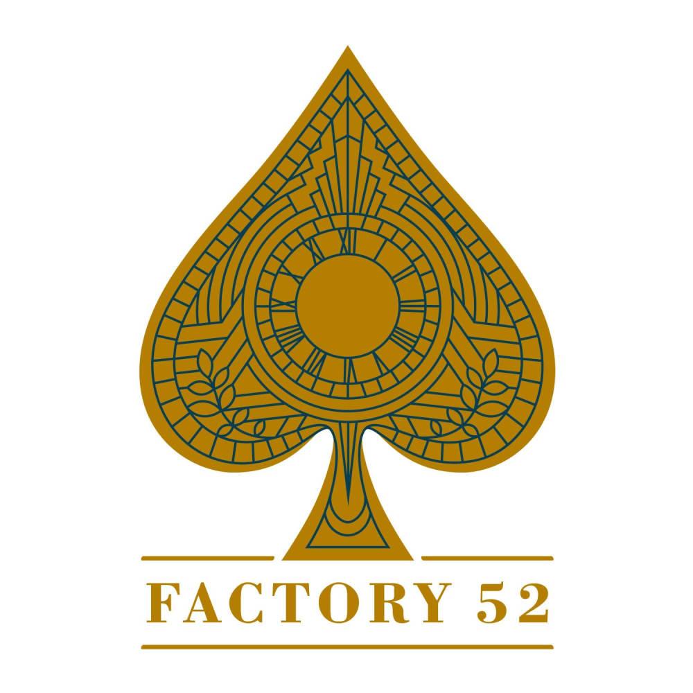 Factory 52 Logo for new housing development in Cincinnati, OH